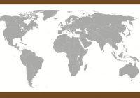 blank world map quiz