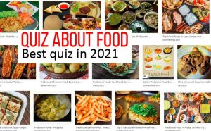 Quiz about Food