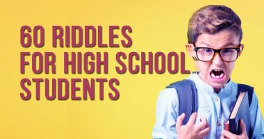 Riddles For High School Students