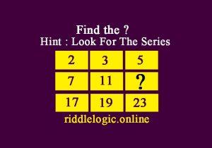 math riddle find number